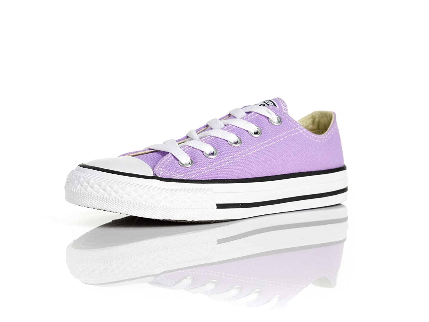 Converse Chuck Taylor All Star Season OX, Unisex Sneaker  13.5 Little Kid M|Fuchsia Glow