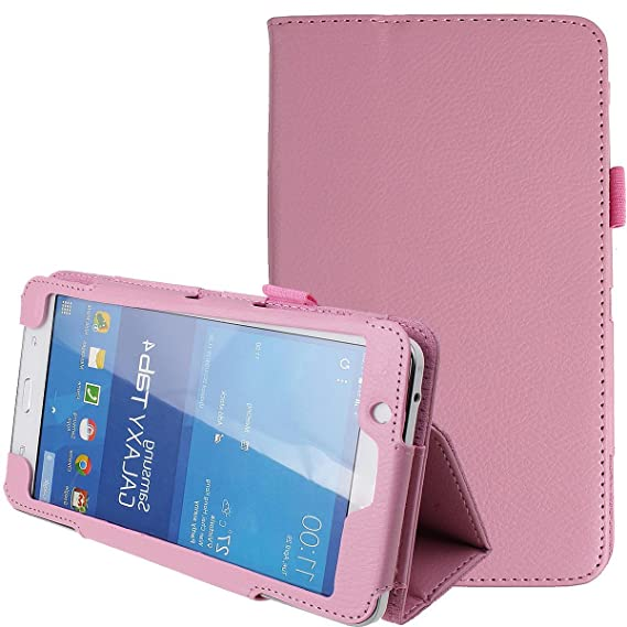new styles 35730 abbd4 NSSTAR Samsung Galaxy Tab 4 7.0,7-Inch Case,Tab 4 7.0 Case,Samsung Tablet  Case 7 inch,Ultra Slim Folding PU Leather Stand Case Cover for Samsung ...