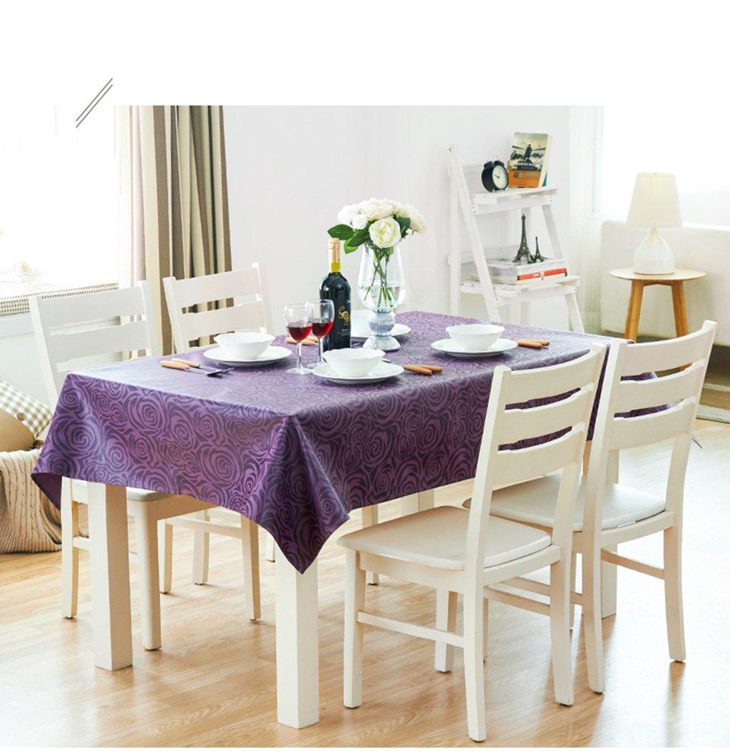 Unbekannt Küchenwäsche Tischdecke Rectangle Couchtisch Tischdecke Wasserdicht Anti-Heiß Öl-proof Wash Away Tuch (Farbe    -4, größe   145220CM) B077XBTT5Q Tischdecken Nicht so teuer   Zahlreiche In Vielfalt