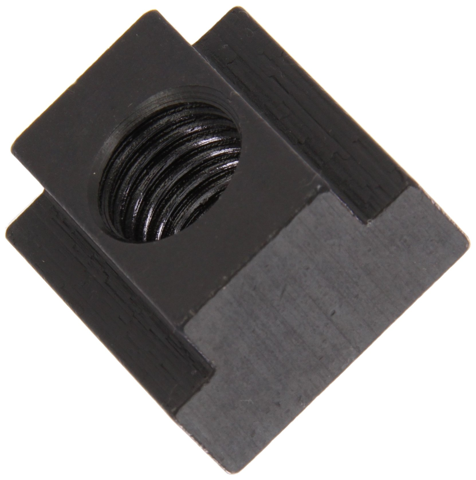 1018 Steel T-Slot Nut, Black Oxide Finish, Grade 2, 1/2''-13 Threads, 3/4'' Height, 11/16'' Slot Depth, Made in US (Pack of 5)