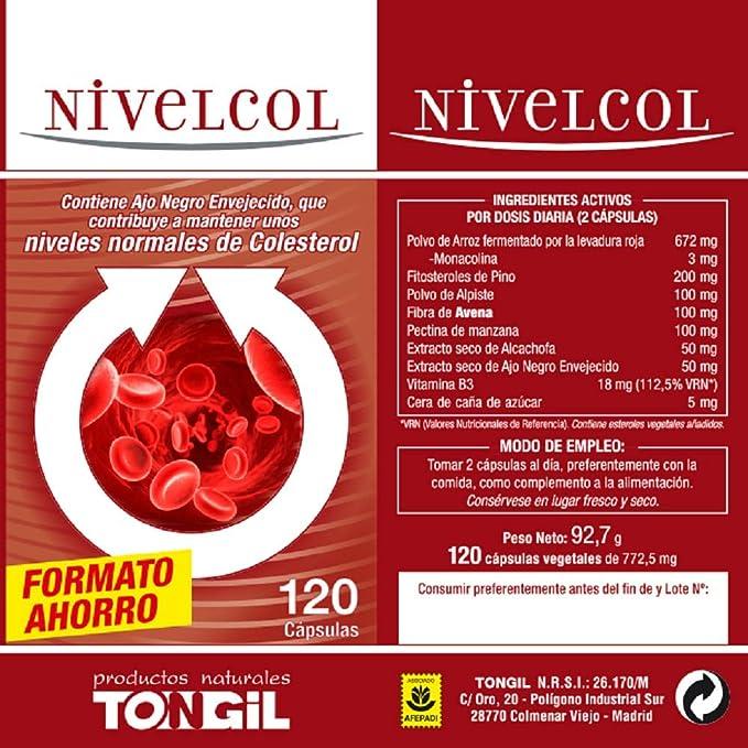 Image ofNivelcol 120 cápsulas