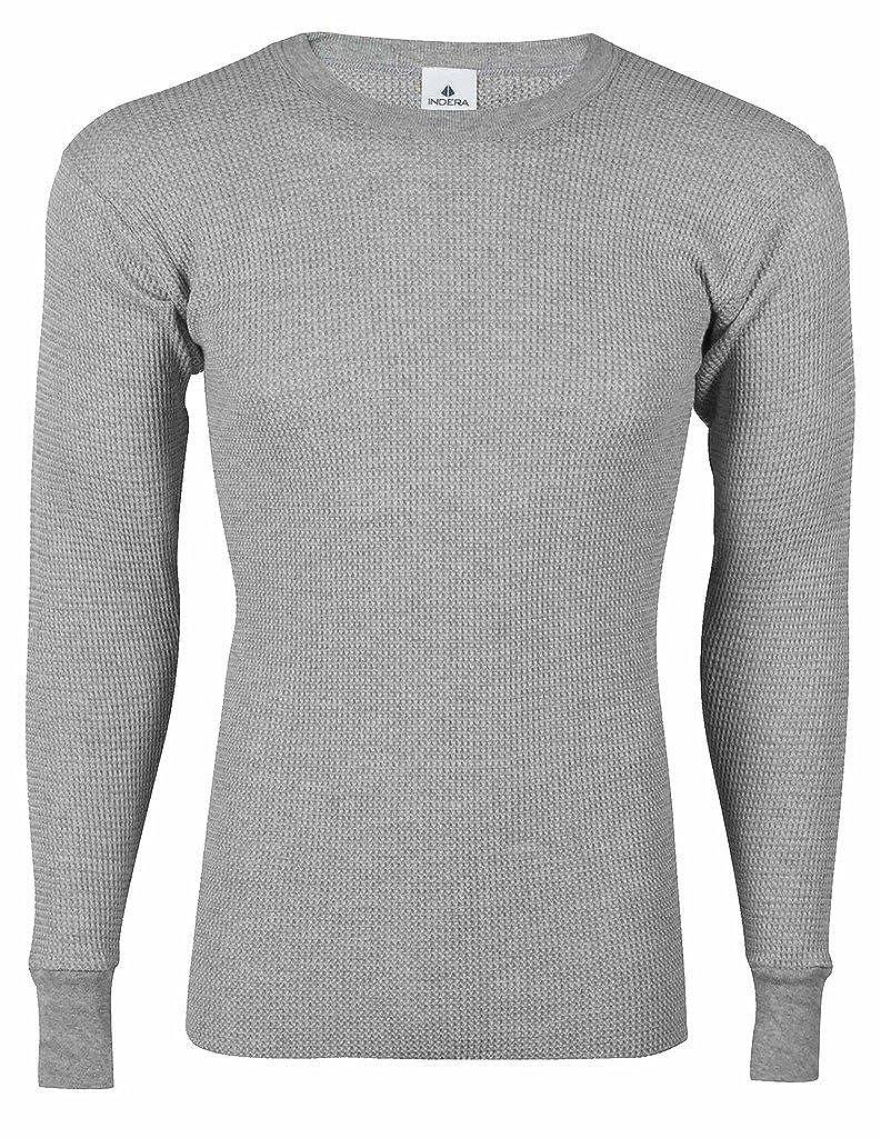 Indera Big Men's Thermal Underwear - Crew Shirt Long Johns
