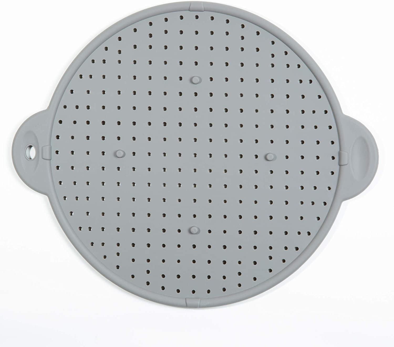 """11"""" 3-in-1 Silicone Splatter Screen, Trivet and Strainer"""