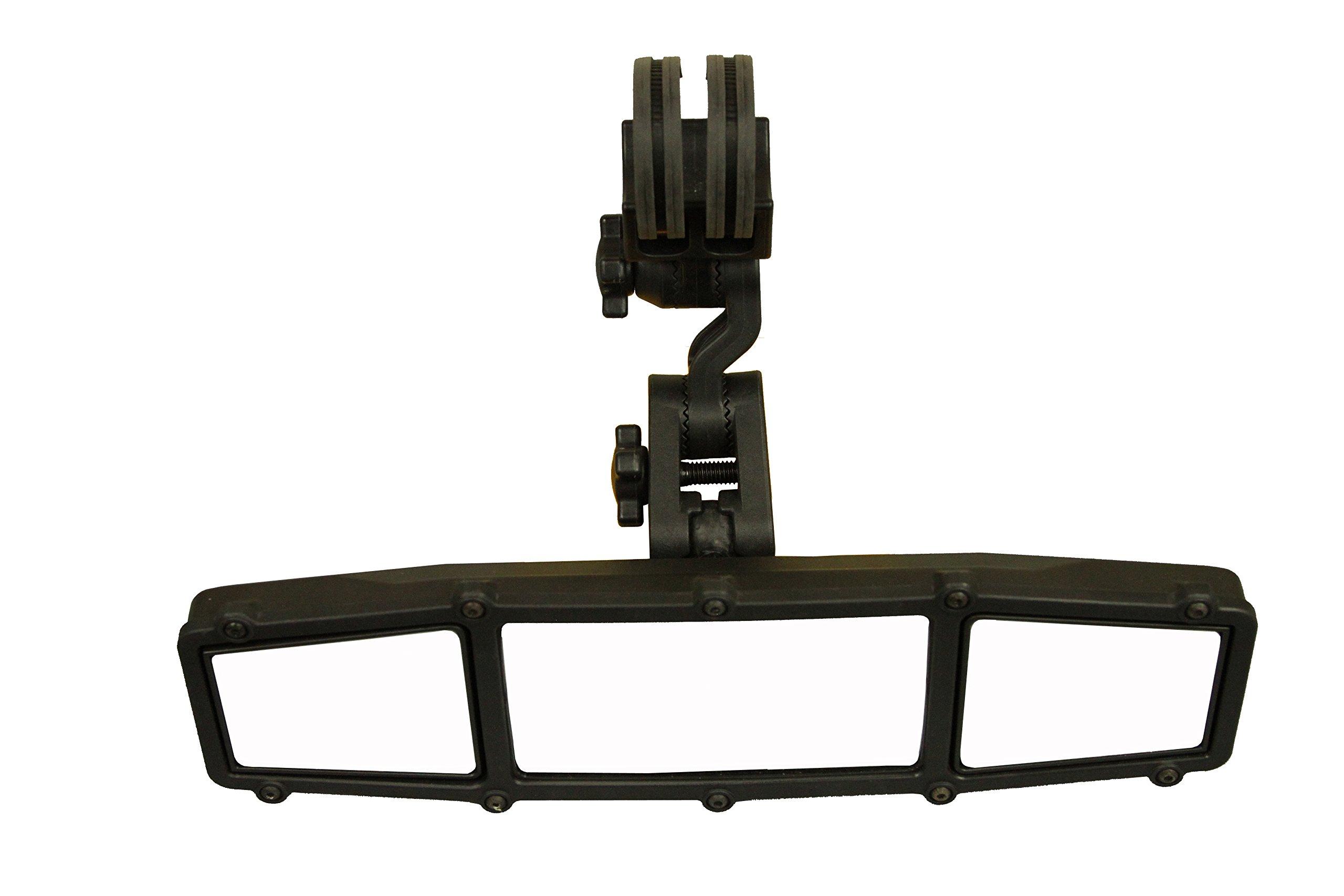 ATV Tek UTVMIRCTR-ES1 Elite UTV Deluxe Adjustable Mount Rear View Mirror