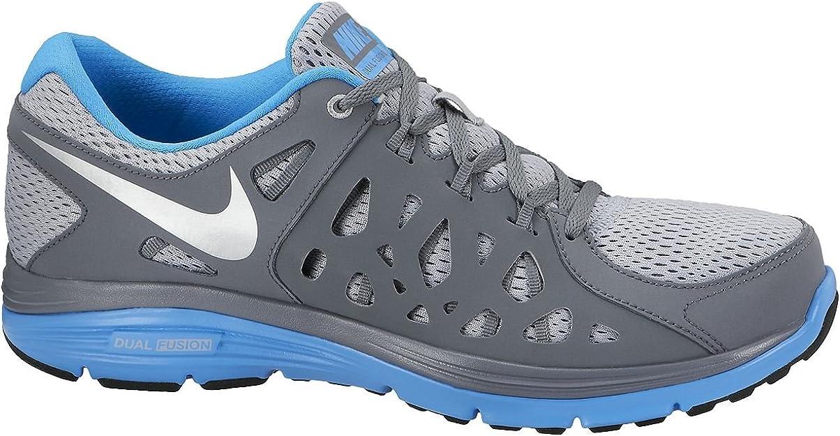 Nike Dual Fusion Run 2 - Zapatillas de Running para Hombre, Multicolor, Talla 40: Amazon.es: Zapatos y complementos