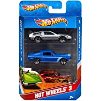 Hot Wheels - 3'Lü Araba Seti (Mattel K5904)