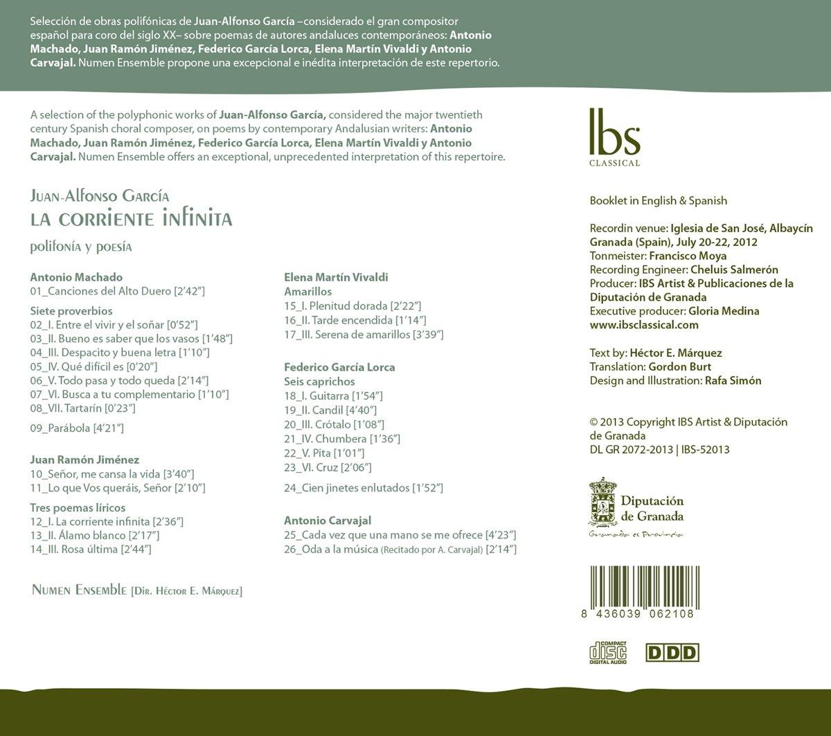 Garcia, Juan-Alfonso: Marquez; Hector E. Numen Ensemble, García ...
