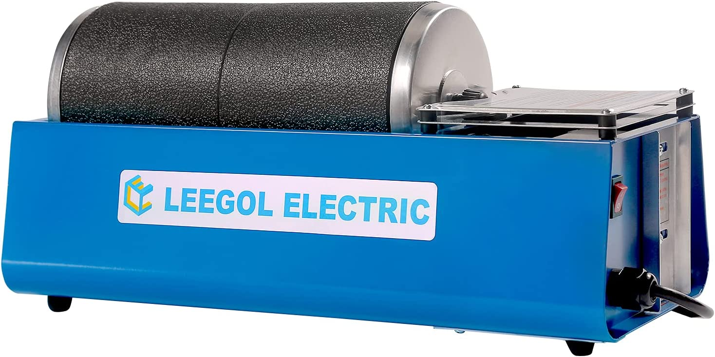 Leegol Electric Rock Tumbler Machine (Double Barrel)
