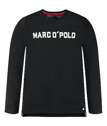 Marc OPolo - Camiseta de Manga Larga para niño Negro (Caviar 1010 ...
