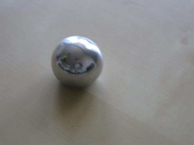 Stainless steel Ball knob 25mm M6 Thread Polished finish Handles controls levers