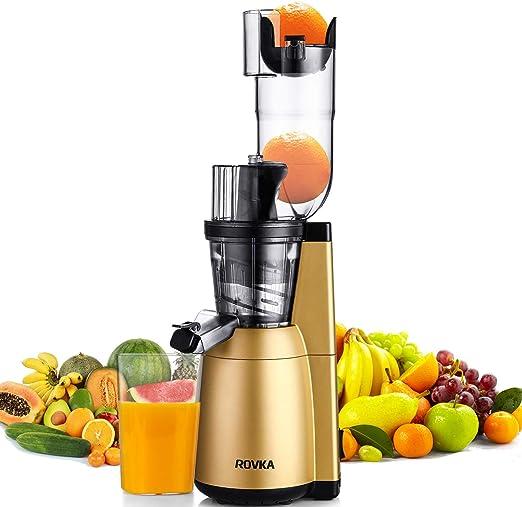 ROVKA Extractor de zumo de alta nutrición y vitaminas de 3.15 ...