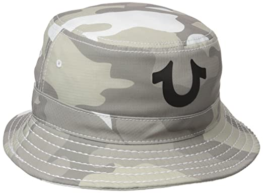 b0032f18b5f True Religion Men s TR Camo Bucket Hat