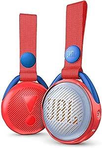 JBL JR POP – Portable Wireless Speaker with Light Feature for Kids – Fun Speaker for Little Music Fans – Red