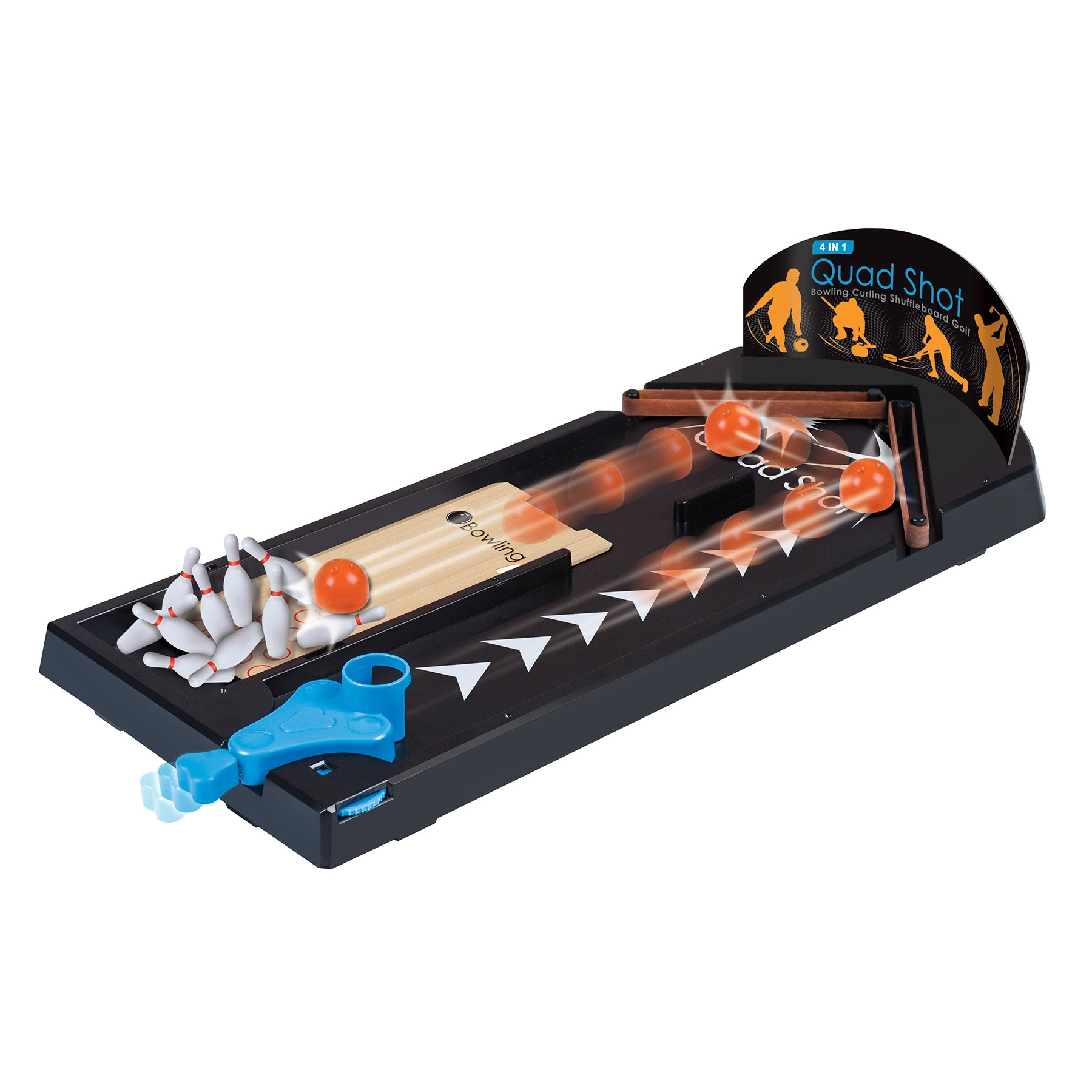 Funtime 4-in-1 Quad Shot Game