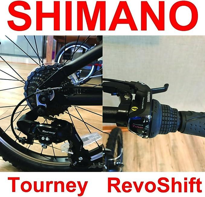 EuroMini ZiZZO Via - Bicicleta Plegable de 27 LB (Marco de ...