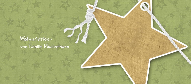 Kartenparadies Tischkarte Weihnachtstisch Tischkarte Sternenschnur, Sternenschnur, Sternenschnur, hochwertige Platzkarte für die Weihnachtsfeier (Format  100x44 mm) Farbe  MattGrün B01MT8JBTY | Gewinnen Sie das Lob der Kunden  | Sale Outlet  | Sonderkauf  bf294d