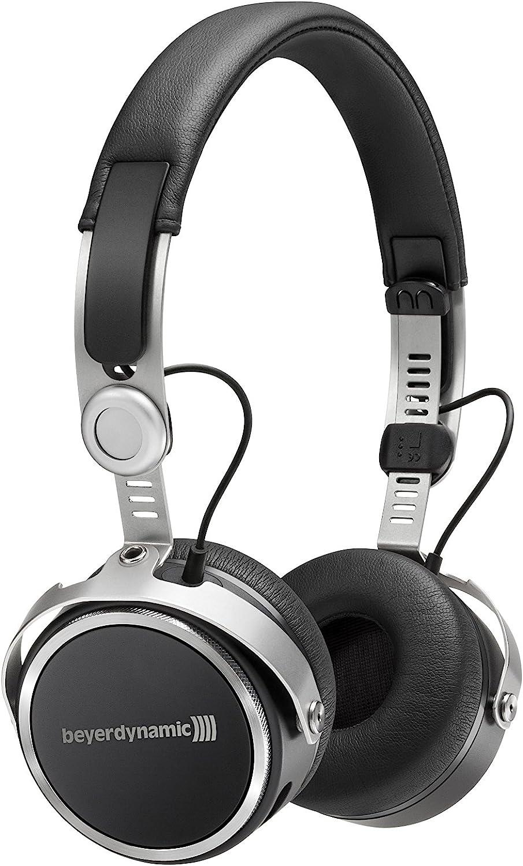 Beyerdynamic Aventho - Auriculares inalámbricos supraaurales de Diadema con personalización de Sonido, Color Negro (717440)