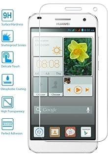REY Protector de Pantalla para Huawei Ascend G7 Cristal Vidrio ...