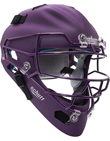 c925b71bf6c Schutt Sports Air MAXX Hockey-Style Baseball   Softball Catcher s Helmet  with Steel Faceguard