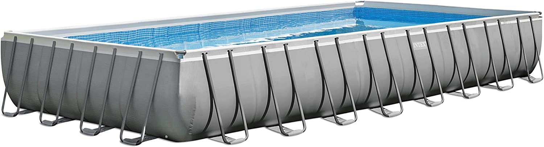 Intex Frame Pool Set - Piscina, Azul, 732x 366x 132cm