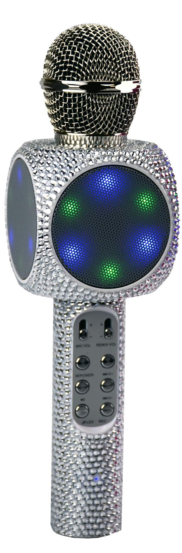 Wireless Express Sing-Along Bling Bluetooth Karaoke Microphone and Bluetooth Stereo Speaker All-in-One by Wireless Express (Image #4)