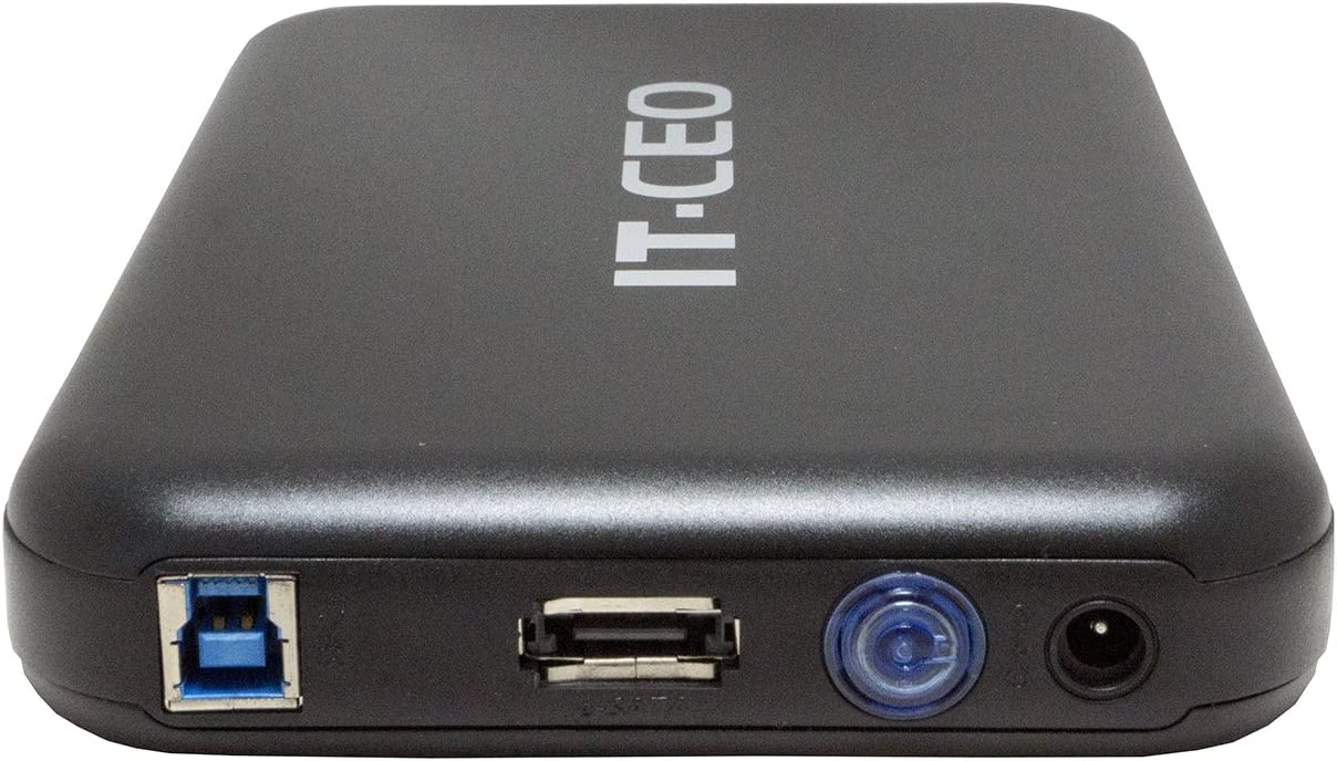 IT735U3 e-SATA/USB 3.0 Caja Externa de Unidad de Disco Duro de 3,5 ...