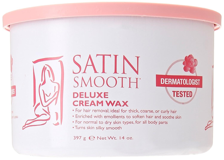SATIN SMOOTH Wax-Deluxe Cream 14-Ounce