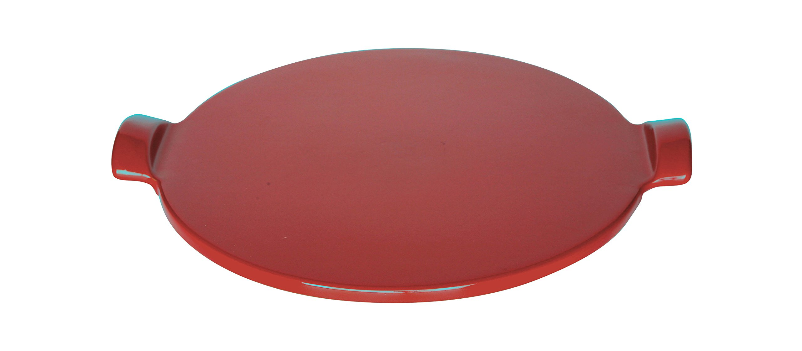 Emile Henry Made In France Flame Individual Pizza Stone, 10'', Burgundy by Emile Henry