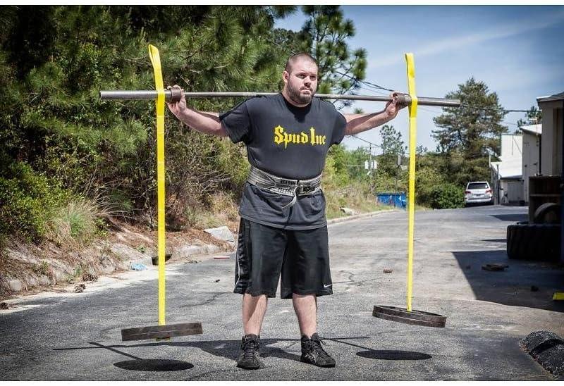 BLACK Spud Inc Yoke Training Exercises Swing Set Straps