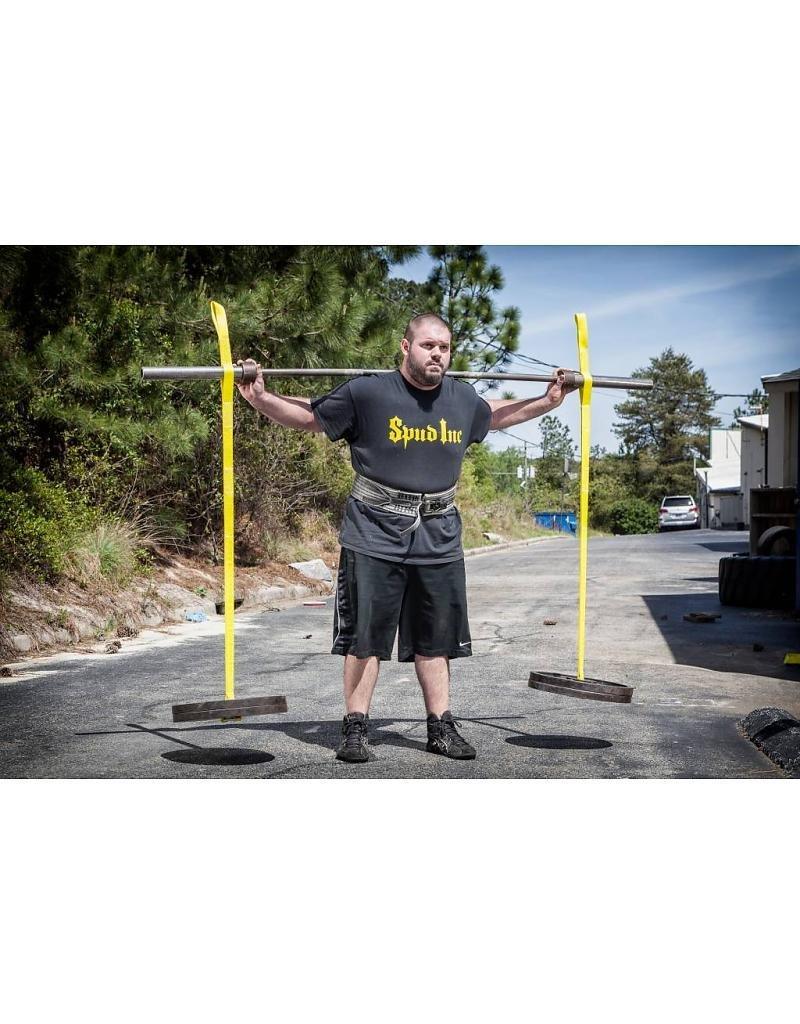 Spud Inc. Swing Set Straps - BLACK - Yoke Training Exercises