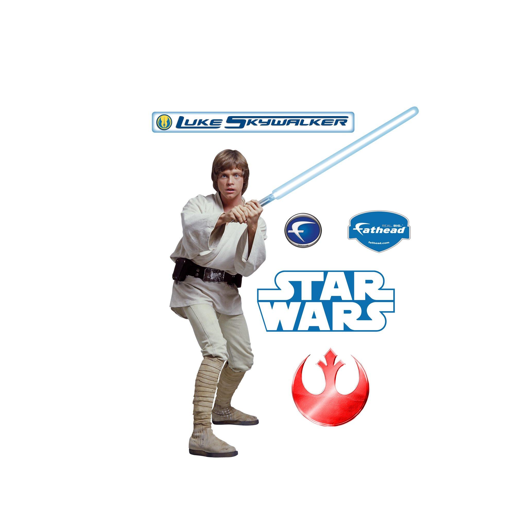 Star Wars Luke Skywalker Wall Graphic