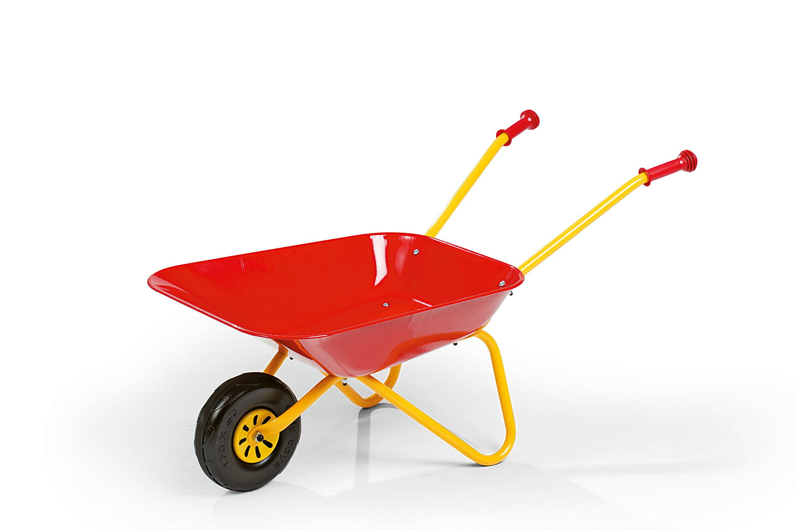 rolly toys Metal Wheelbarrow - Red