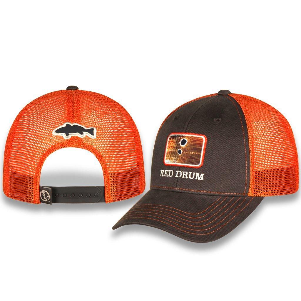 523d8d3aa804c Amazon.com   Gills N Game Sport Fishing Mesh Back Fishing Hat (Blue Marlin  Scale)   Clothing