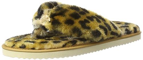Original Fur, Chaussons Femme, Multicolore (Leo 9680), 39 EUFlip*Flop
