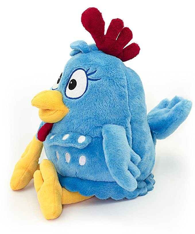 Amazon.com: Combo Pack: Lottie Dottie Chicken Plush Toy + DVDs Multi-language Vol. 1 + 2 + 3: Toys & Games