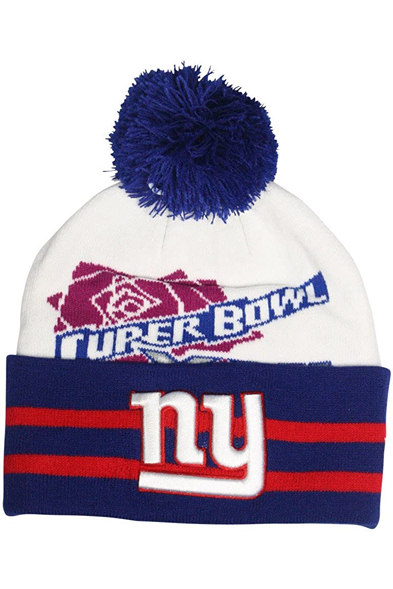 New Era Super Wide Point New York Giants Super Bowl XXI White - Royal Blue  - Red at Amazon Men s Clothing store  d0f4a3d35