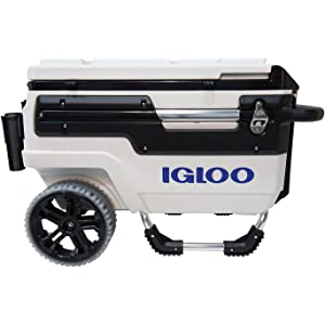 Igloo Wheeled Cooler - Best Rotomolded Cooler For The Money