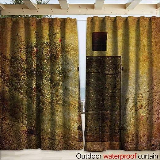 warmfamily - Pérgola rústica para Patio, diseño de Flores y ...