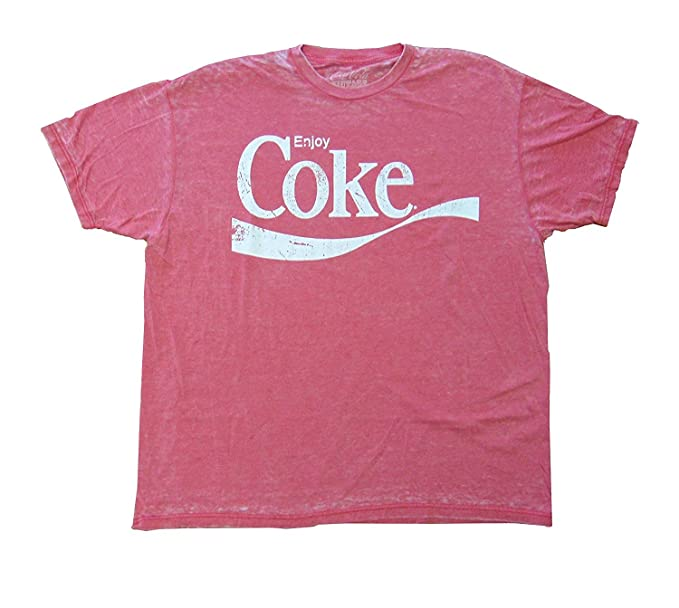 deb06abba213d1 Amazon.com: Enjoy Coke Vintage T-Shirt (2XL): Clothing