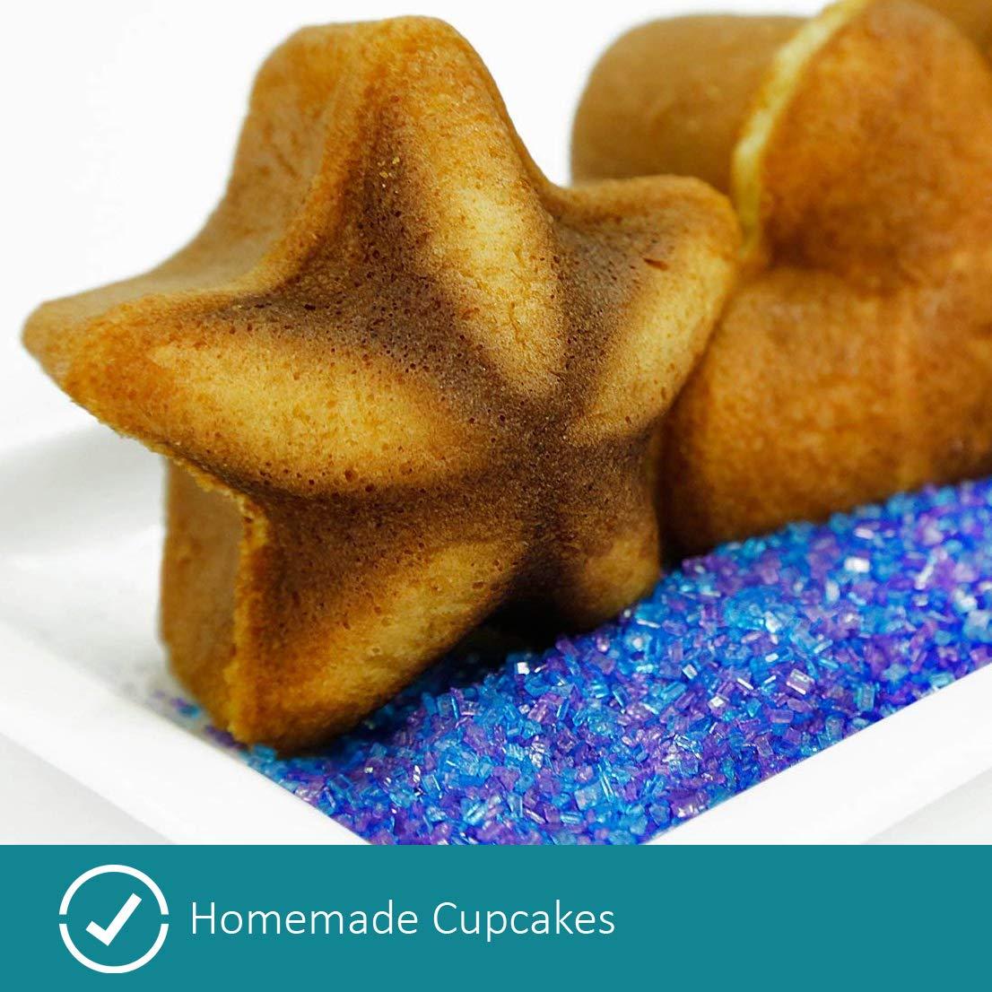 Holstein Housewares HF-09034M Star & Heart Cupcake Maker - Magenta by Holstein Housewares (Image #5)