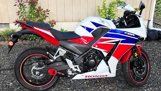 with Blue Tip Coffmans Shorty Exhaust Slip On Muffler for Honda CB300F CBR300R CBR 300 2015-2019