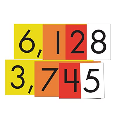 Essential Learning Products 4-Value Whole Numbers Place Cards Set: Toys & Games