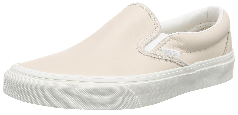 Vans Classic Slip-on Unisex-Erwachsene Sneakers  38 EU|Pink (Leather/Whispering Pink/Blanc De Blanc)