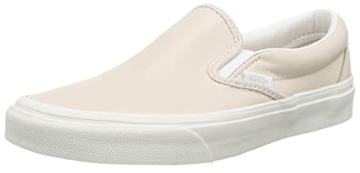 3fa9211313 Vans Unisex Classic Slip-on Low-top Trainers Pink (Leather Whispering Pink