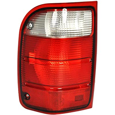 Left Driver Side Tail Light Assembly for 2001-2005 Ford Ranger - Parts Link # FO2800156: Automotive