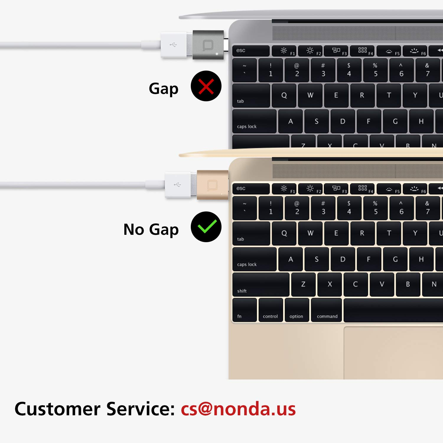 nonda USB C to USB AdapterUSBC to USB 30 AdapterUSB TypeC to USBThunderbolt 3 to USB Female Adapter