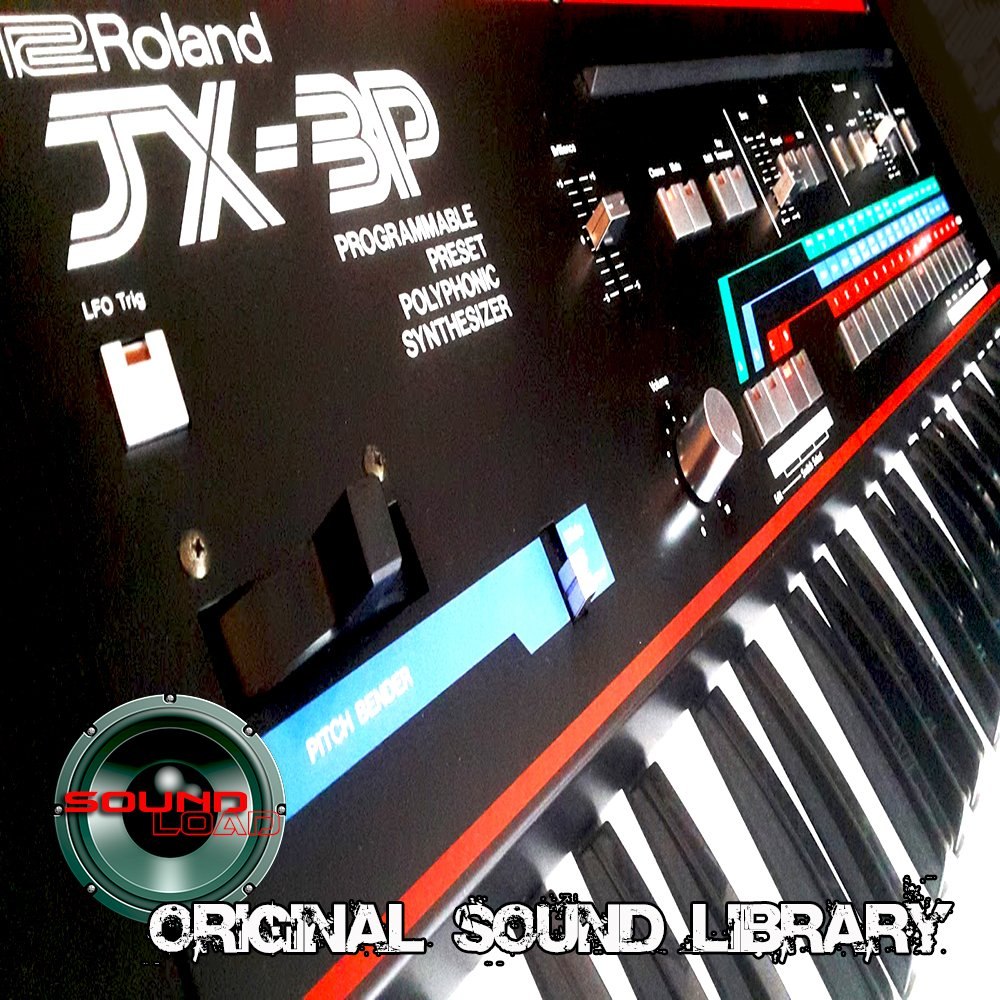 for ROLAND JX3P - The KING of analog Sequencers - Large unique original 24bit WAVE/Kontakt Multi-Layer Samples/Loops Library. FREE USA Continental Shipping on DVD or download; by SoundLoad