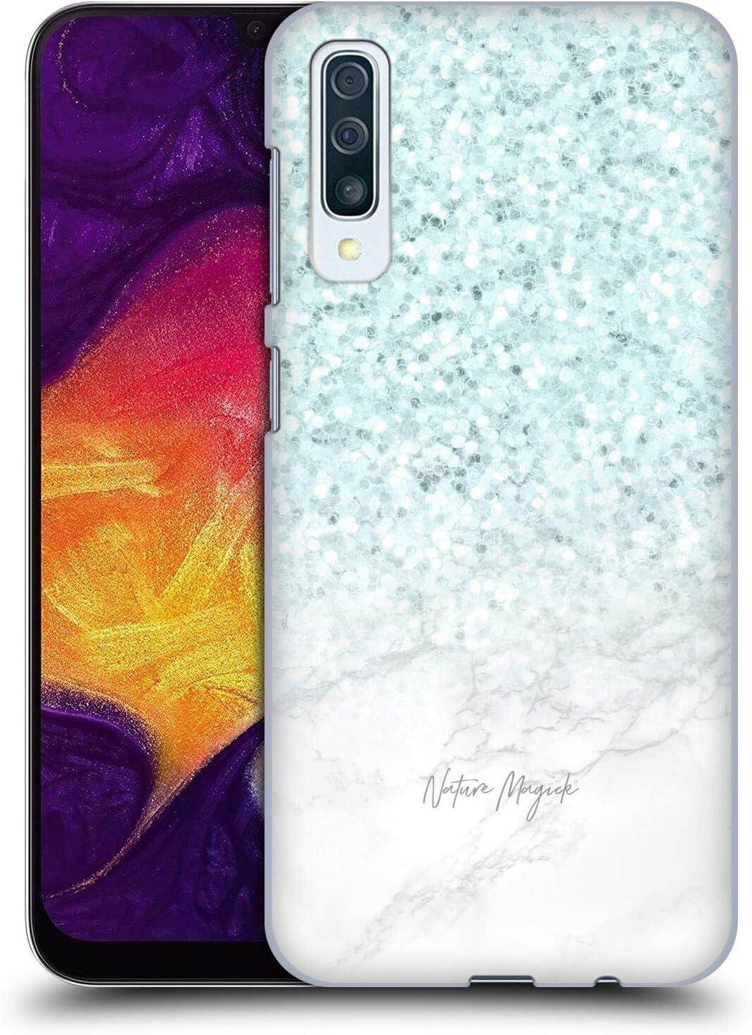 Head Case Designs Oficial Nature Magick Turquesa Turquesa Chispa M/ármol con Purpurina Pastel Carcasa r/ígida Compatible con Samsung Galaxy S20 S20 5G