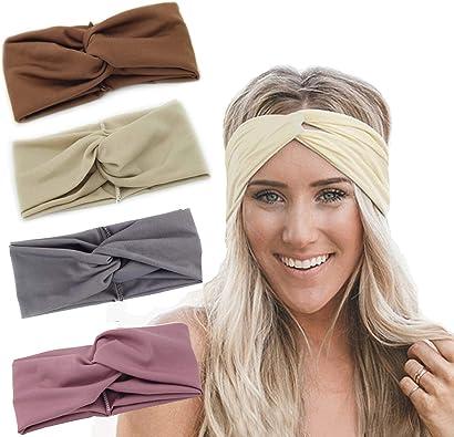 Amazon.com: Rioso - Diadema de turbante para mujer, estilo ...