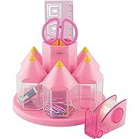 Exerz Rotary Desk Organiser Pen Tidy Set met 5 Accessoiresboxen - Multi kleuren - gevuld met veiligheidsschaar (niet…